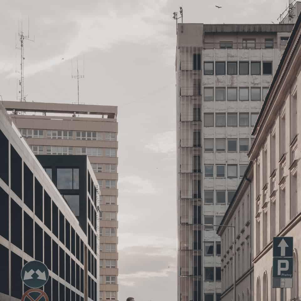 Ulica w Warszawie (nordic)